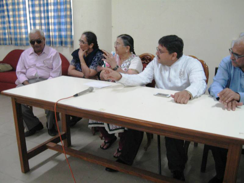 Pranav at Blind People's Association, Ahmedabad