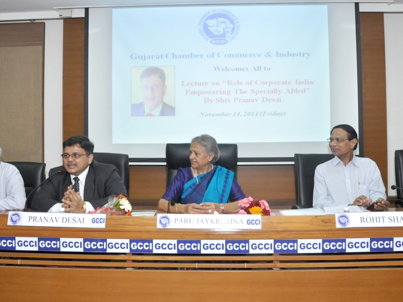 Pranav at Gujarat Chamber of Commerce and Industries