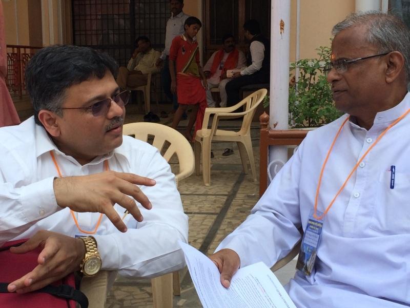 Pranav with Suhas Rao ji at Saksham
