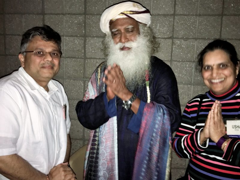Misison VoSAP blessed by Sadhguru