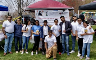 Washington DC chapter of VoSAP at RAPU 2018 (Kite flying, Holi event)