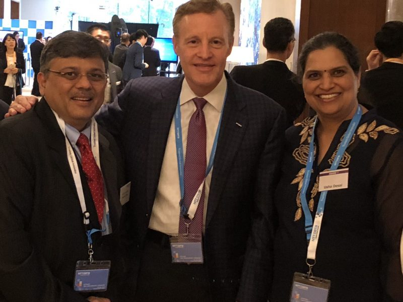 VoSAP founders with Executive VP, NTT  DATA