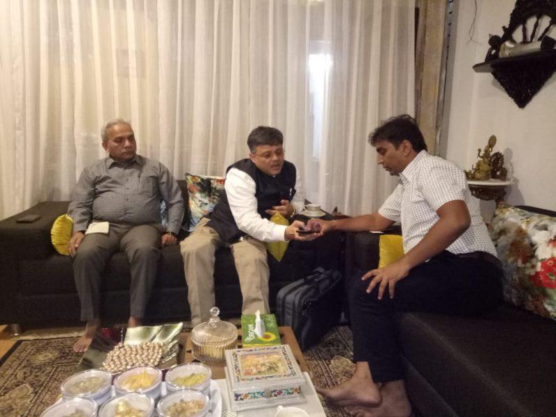 Collector, Amdavad District took VOSAP Pledge
