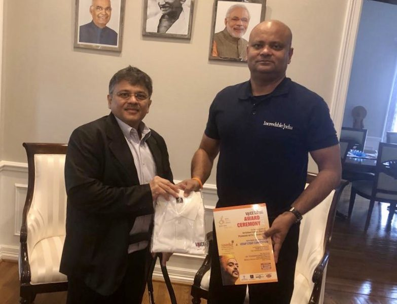 VOSAP Founder Received by Consulate General, Houston