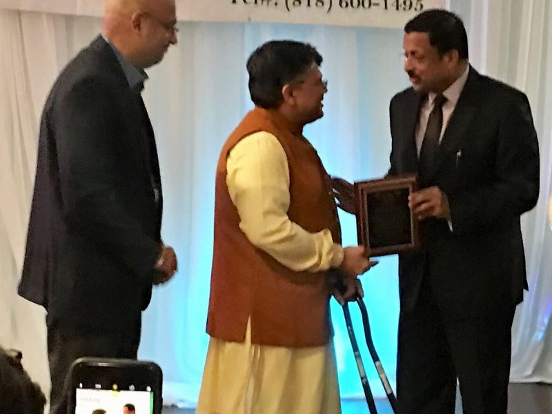 VOSAP Founder received IALA Award from CGI, San Francisco