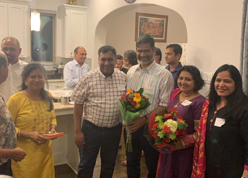 VOSAP Dallas chapter lead promotes the cause to REC Nagpur Alumni