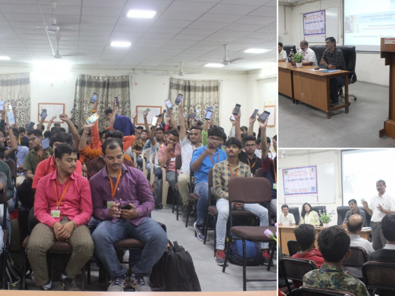 35 polytechnic students joined VOSAP, post 1 hours VOSAP session