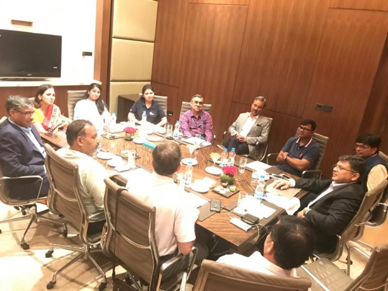VOSAP Team with 12 HR leaders in Delhi
