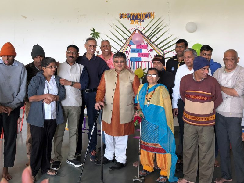 VOSAP team at Ananddham, residential facility for Intellectual Disabilities (Click for Photos)