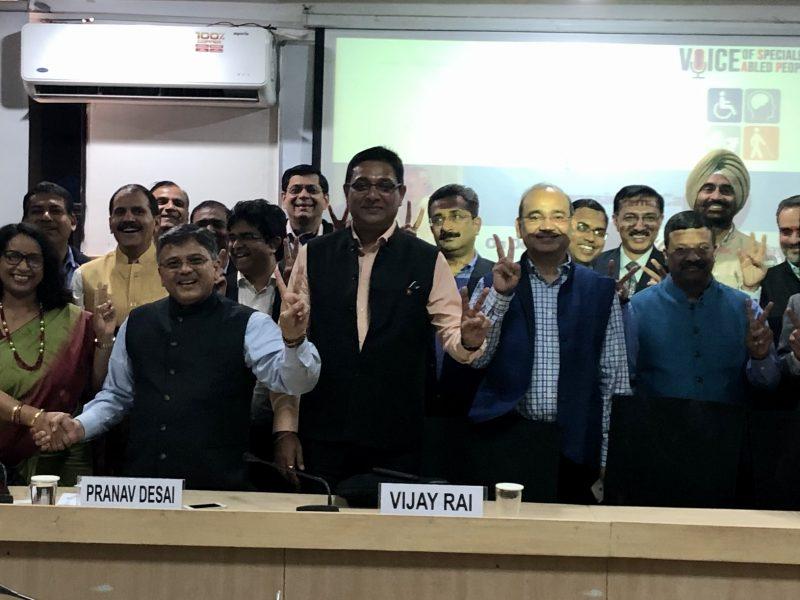 VOSAP session on Compassionate Capitalism at Indian Institute of Public Admin, Delhi