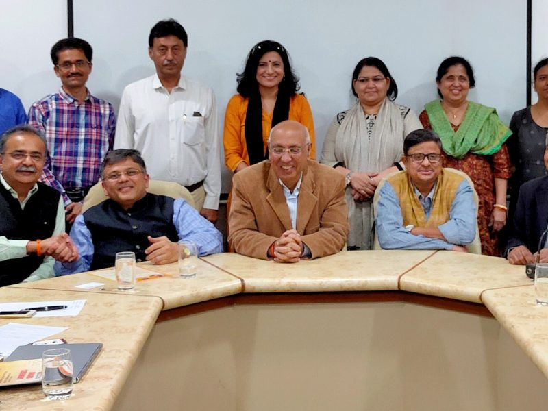 VOSAP Advocacy at Nirma Uni with Dean, Director General, Head of Institutions of Nirma