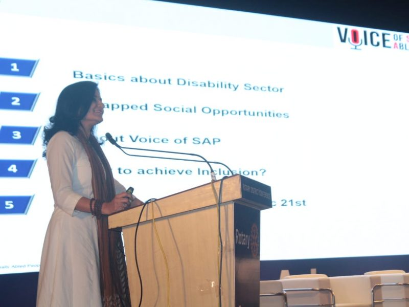 VOSAP Advocacy session at Annual conf of Rotary International Dist 3054 (click for photos)